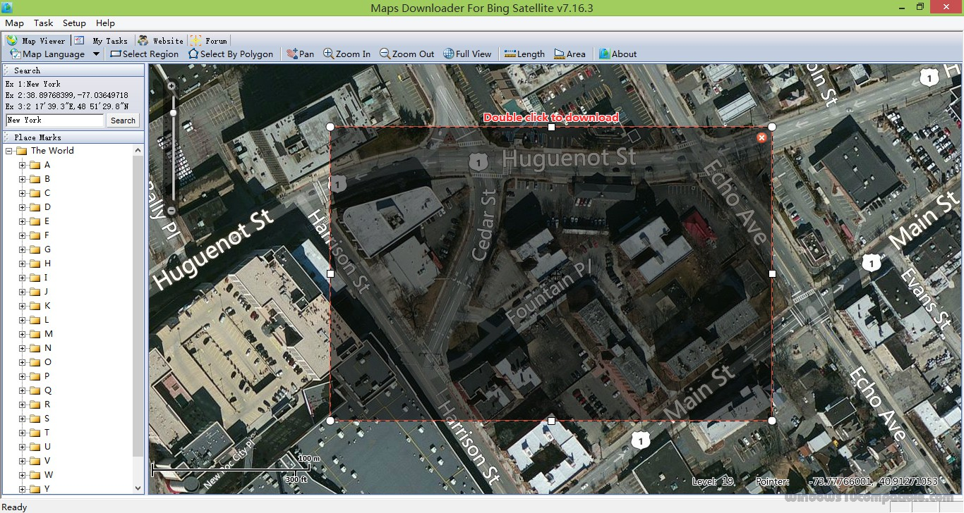 how to download bing maps